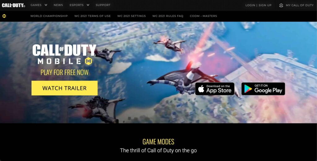 Call of Duty Mobile Game on PC